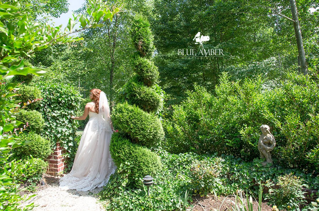 Blue Amber Weddings: The Bride ©Blue Amber Photography, NC