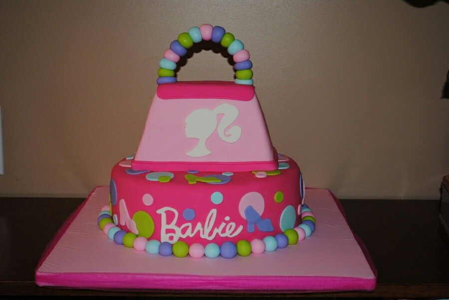 Barbie purse birthday cake. This one is too cute