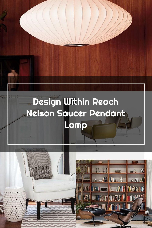 Nelson Saucer Bubble Pendant Herman Miller In 2020 Design Home Decor Nelson Saucer Pendant