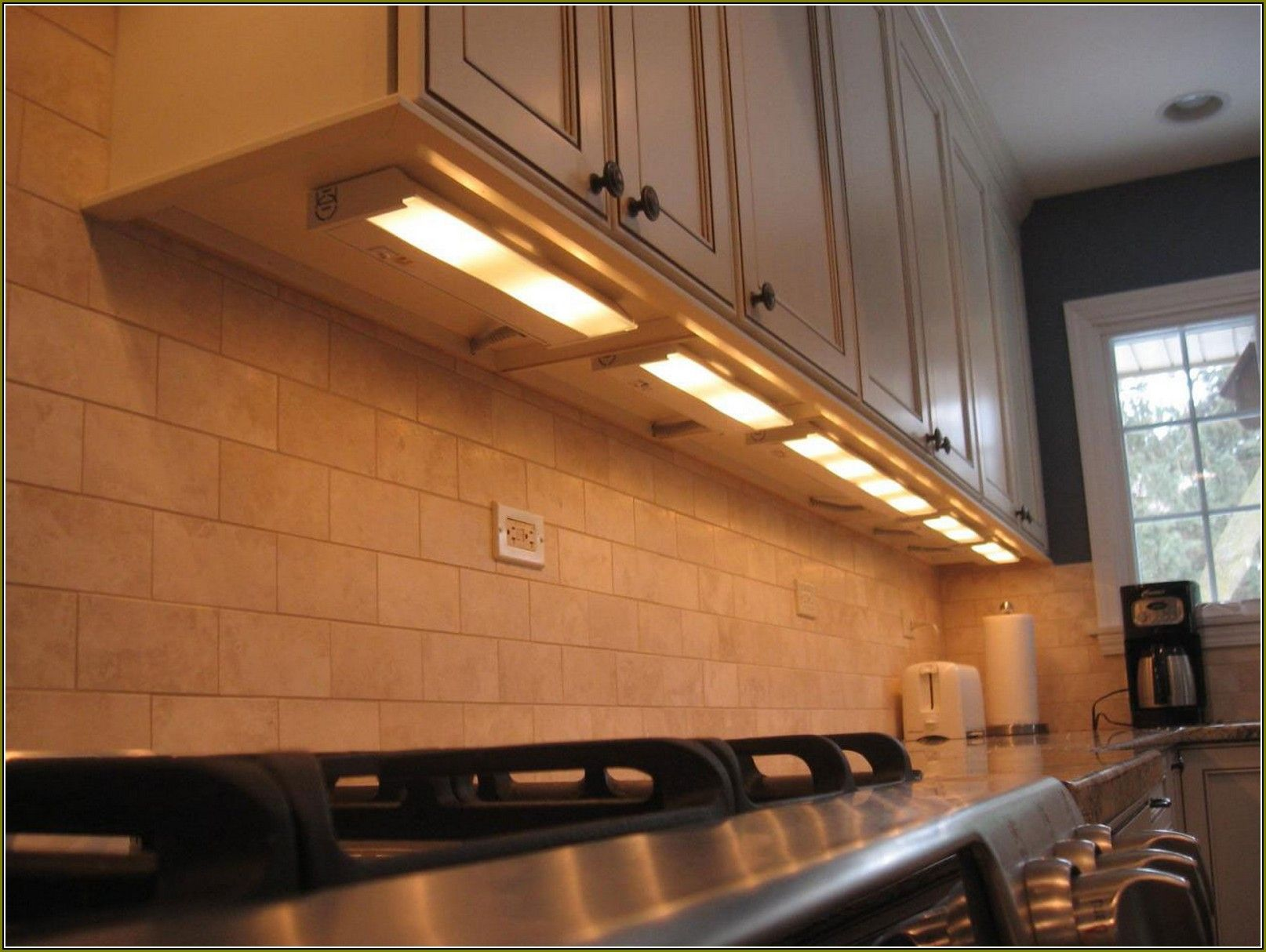 Under The Cabinet Lighting Kitchen Led Under Cabinet Lighting