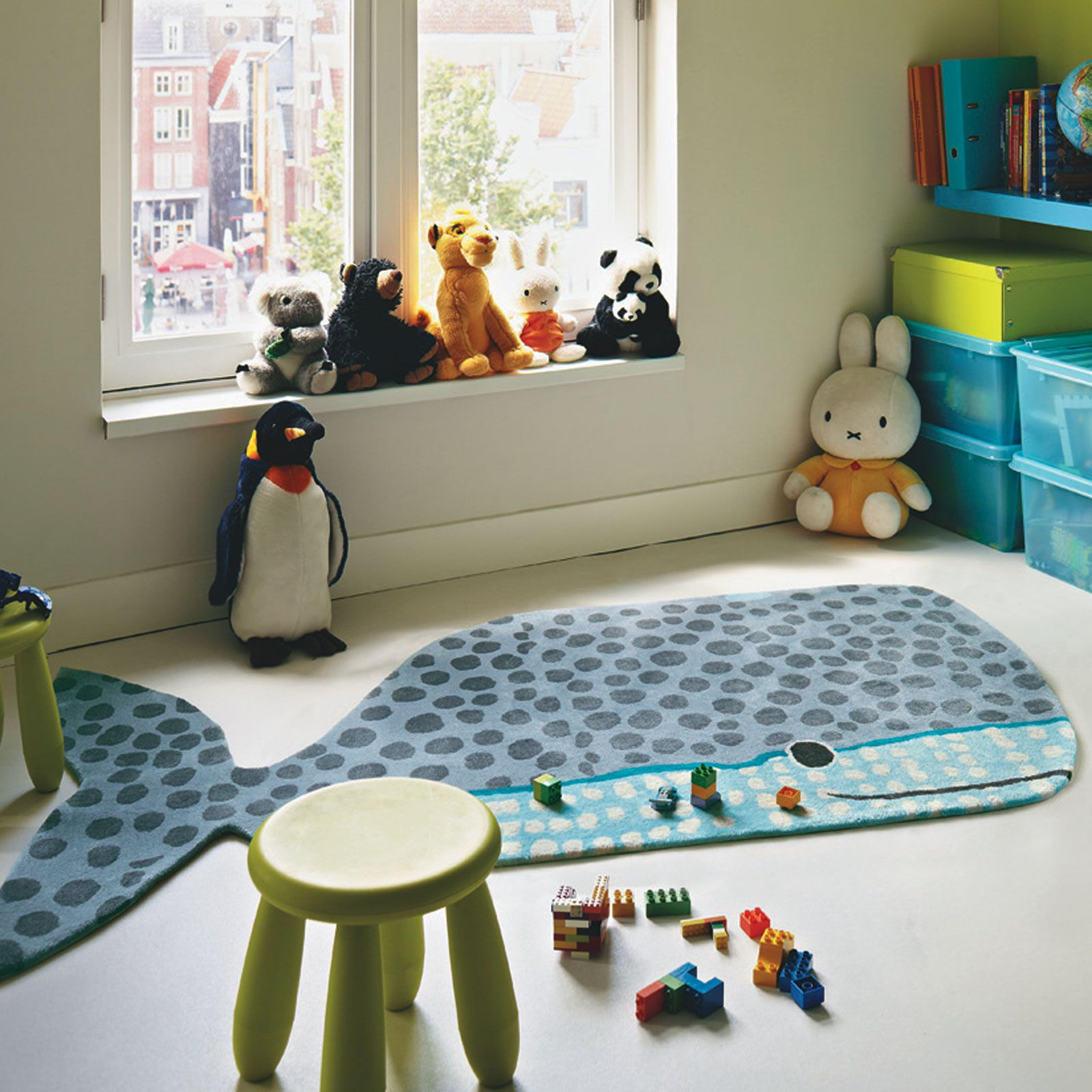 Xian Kids Buddy 41504 Whale Rug Online From The Er Uk