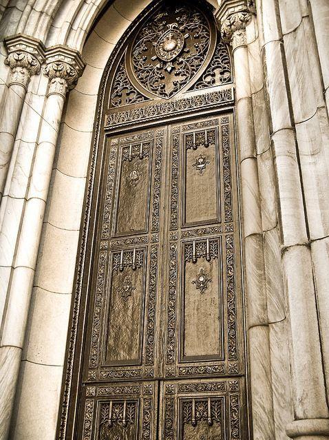 St Patrick S Cathedral Bronze Door New York Door