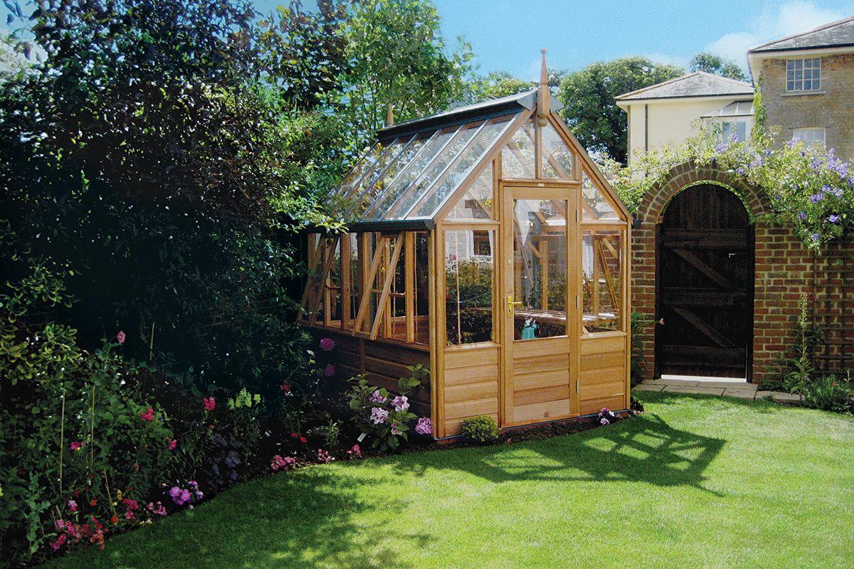 Serre de jardin Gabriel ASH RHS Freestanding (modele Rosmoor ...