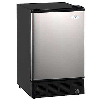Under Counter Ice Maker Undercounter Ice Makers Ice Maker Stainless Steel Doors