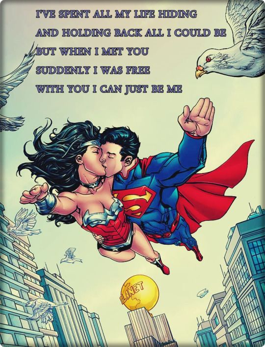 Image result for superman woman woman we are each other shelter