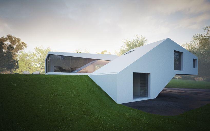 Remarkable White Modern Mansion House Hafner By Hornung And Jacobi Architecture In Germany Architektura Moderne Domy Domy