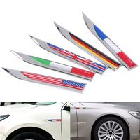 3D Germany Flag Emblem Badge For Auto Side Door Fender Decal Stickers