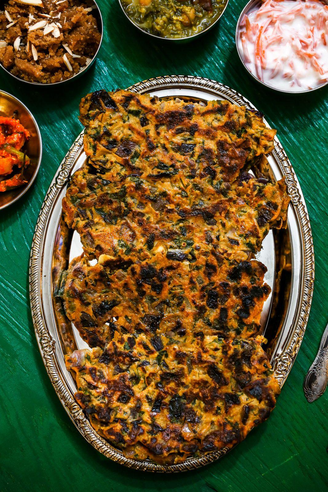 Thalipeeth ghavacha sheera shepuchi bhaji recipe thalipeeth recipe shepuchi bhaji recipe ghavacha sheera recipe marathi recipes marathi food forumfinder Image collections