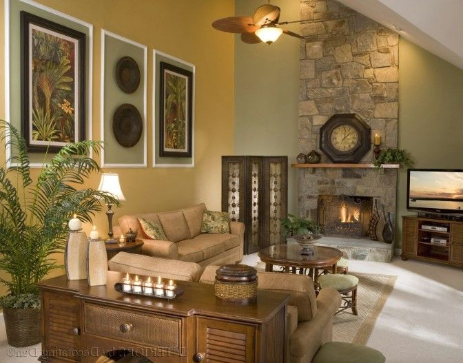 How To Decorate A Large Wall With Vaulted Ceilings Uhykj Paint Colors For Living Room Living Room Colors Wall Decor Living Room