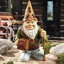 Fishing Gnome-Cute find:) Photons!