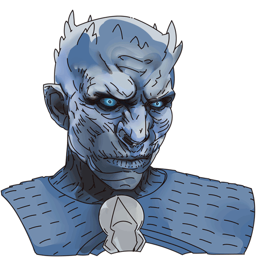 How To Draw The Night King From Game Of Thrones Game Of Thrones Drawings Drawing Themes King Drawing