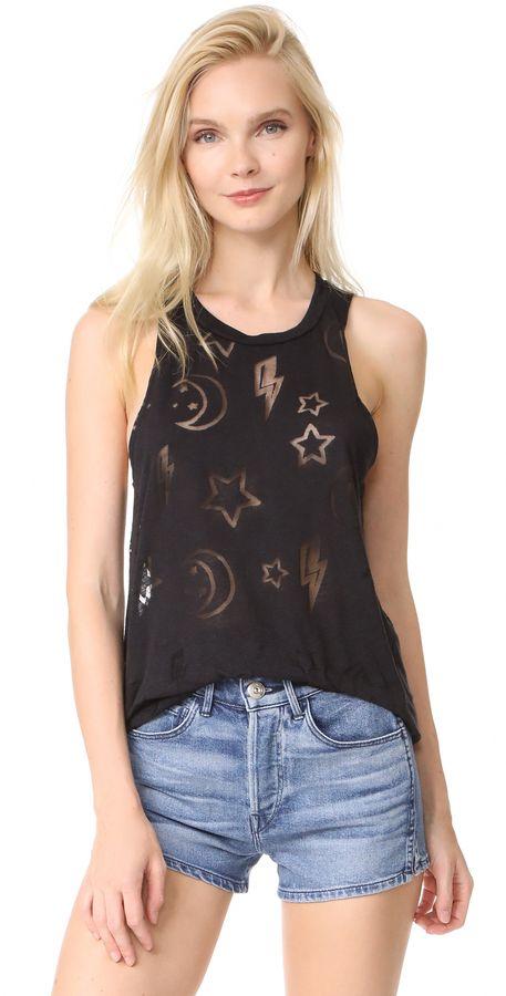 004c08f1b3571 Terez Stars   Moons Burnout Tank