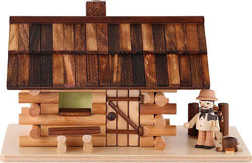 German Incense Smoker Forest hut with wood worker - 10cm / 4 inch - Dregeno Seiffen Authentic German Erzgebirge Handcraft http://www.amazon.com/dp/B008MBSMSQ/ref=cm_sw_r_pi_dp_ofhLub003FKR9