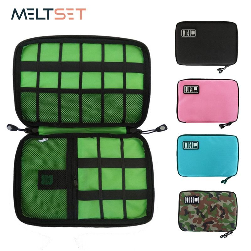 Storage Case Bags Electronic Accessories Cable Organizer Bag Travel USB Charger Storage Case