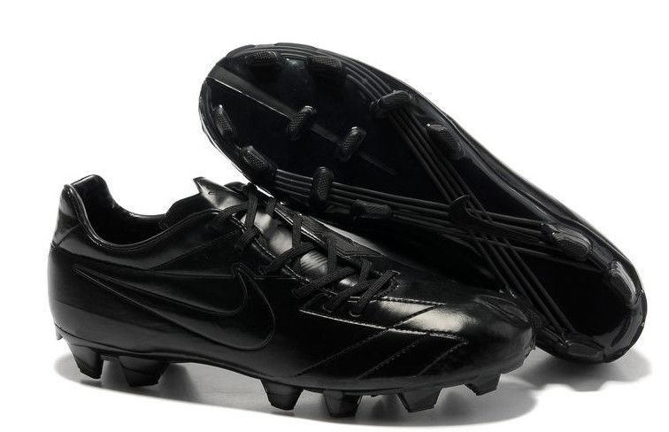 a143e1ee08a8 Nike Total 90 Laser IV FG Mens Firm Ground Soccer Cleats( Blackout ...