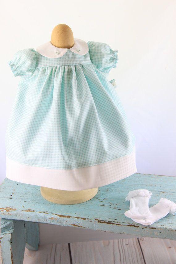 Reggie s Babydoll dress pattern PDF -Fits Waldorf doll 15