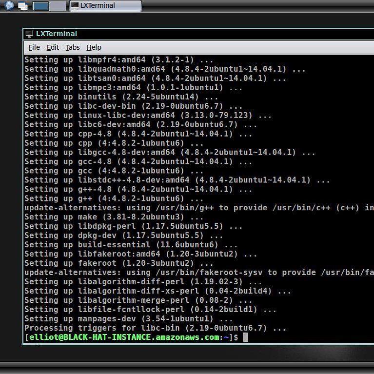 Elliot Linux Desktop from the T V  show Mr  Robot  #linux