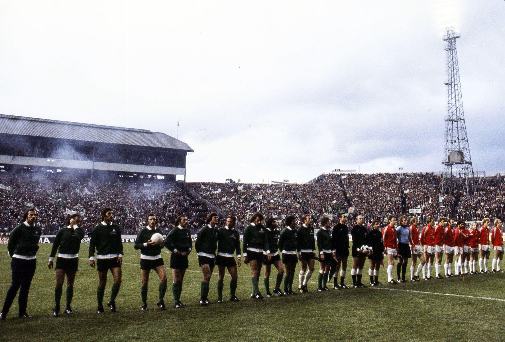 12 mai 1976 bayern munich 1 0 asse finale de la coupe d 39 europe des clubs champions poteaux - St etienne coupe d europe ...