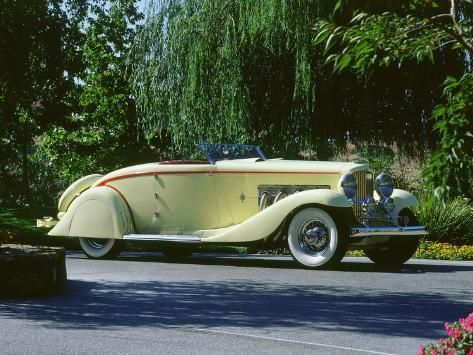 '1935 Duesenberg Speedster' Photographic Print - | Art.com