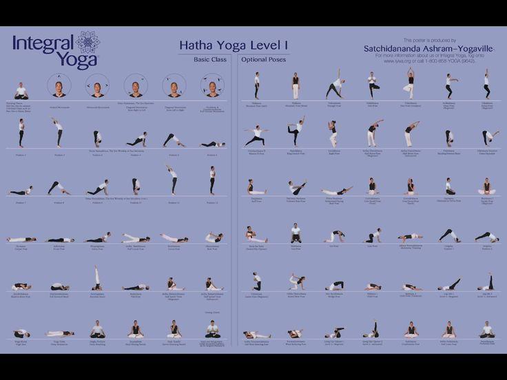 Hatha Yoga Sequences Hatha yoga poses level 1