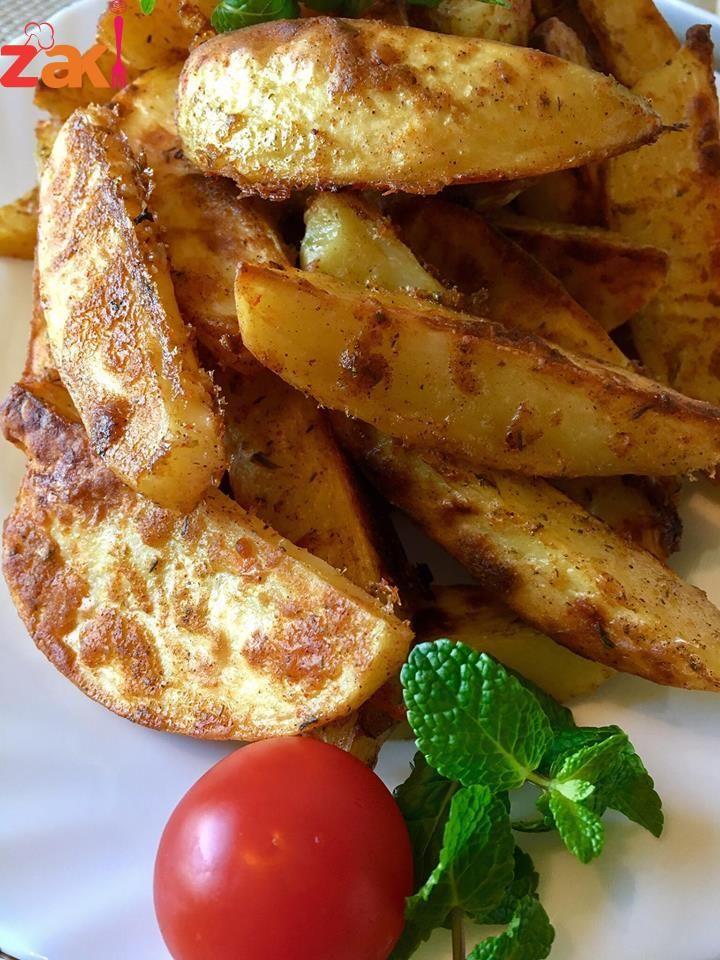 أجنحة البطاطا المشوية هدية لأطفالكم زاكي Food And Drink Food Healthy Recipes