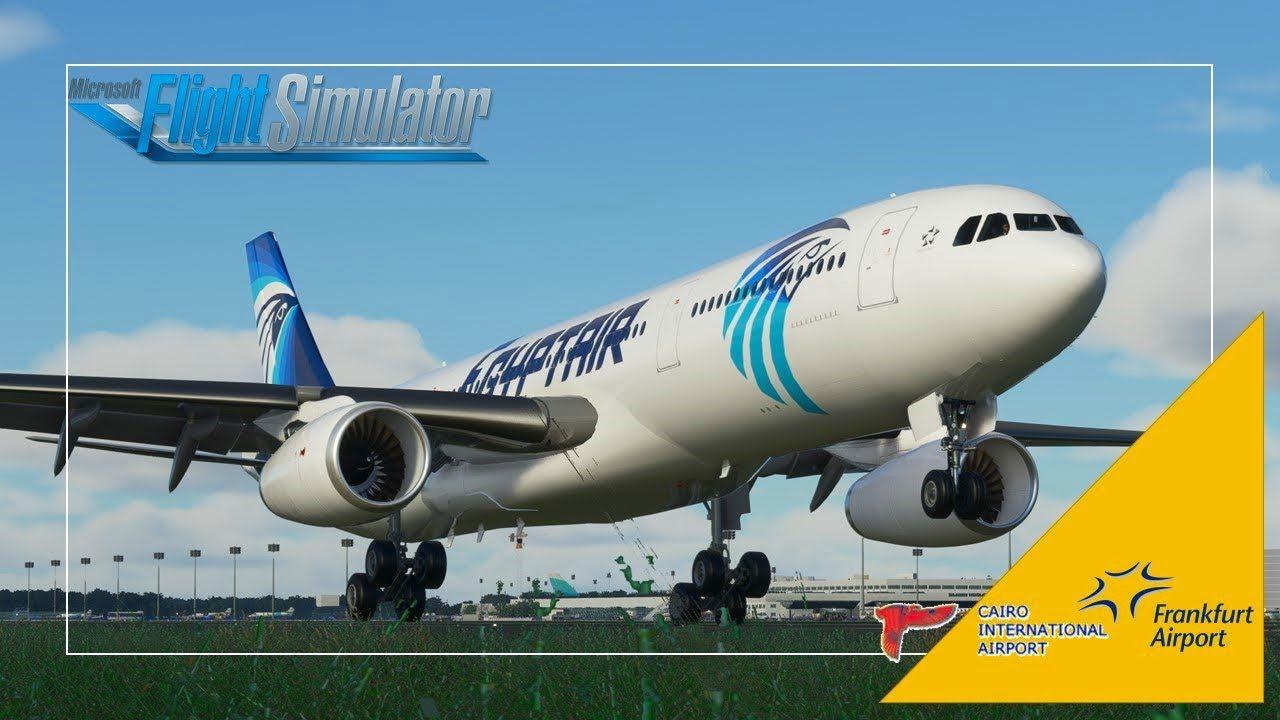 Flight Simulator 2020 - Cairo Egypt to Frankfurt - PMP ...