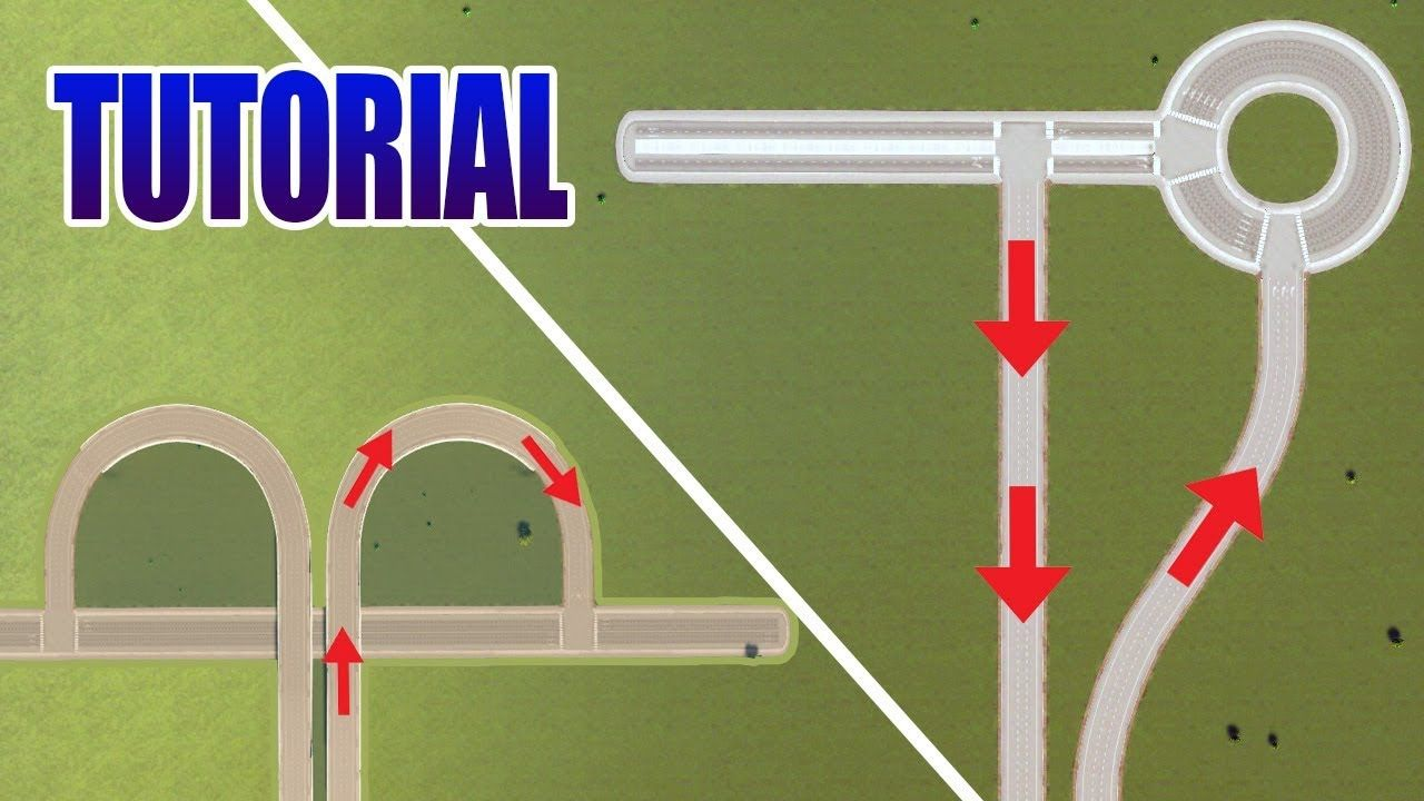 Cities Skylines Highway Entrance Exit Ideas Easy No Mods 2017 City Skylines Game City Skyline City Layout