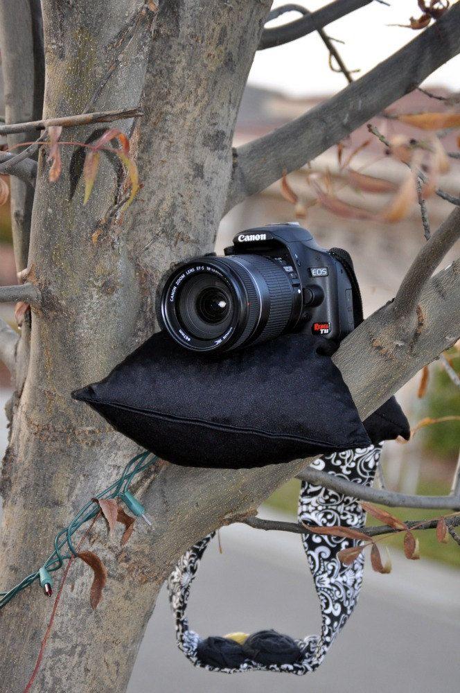 Bean Bag Camera Pod Black Photography Camera Bean