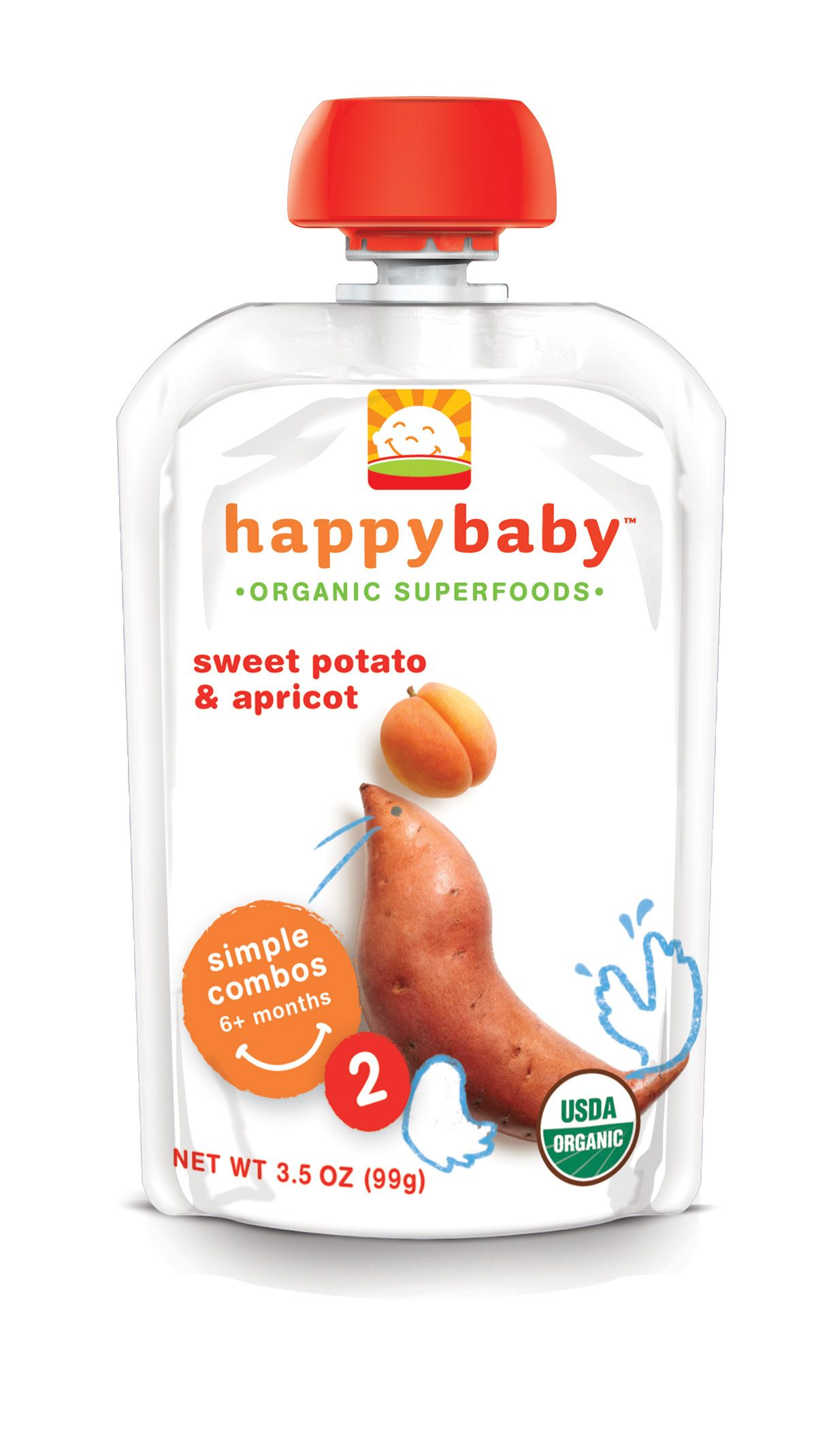 Happy baby foods apricot sweet potato lily loves this