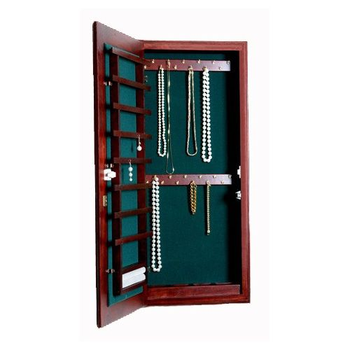 Small Wall Mounted Jewelry Cabinet   Keyed Lock Image. Small Wall Mounted Jewelry Cabinet   Keyed Lock Image     Jingling