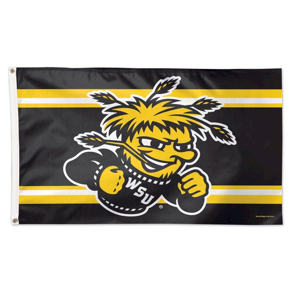 NCAA Wichita State Shockers Flag Wichita state, Flag