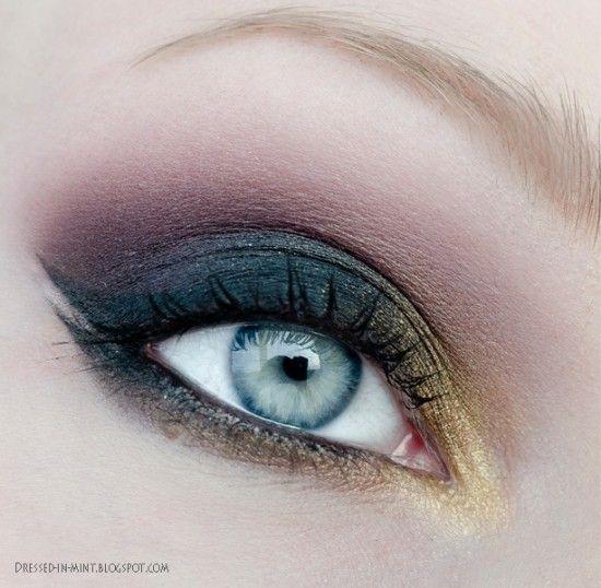 Back To Black Makeup Tutorial Malowanie Oczu I Makijaż