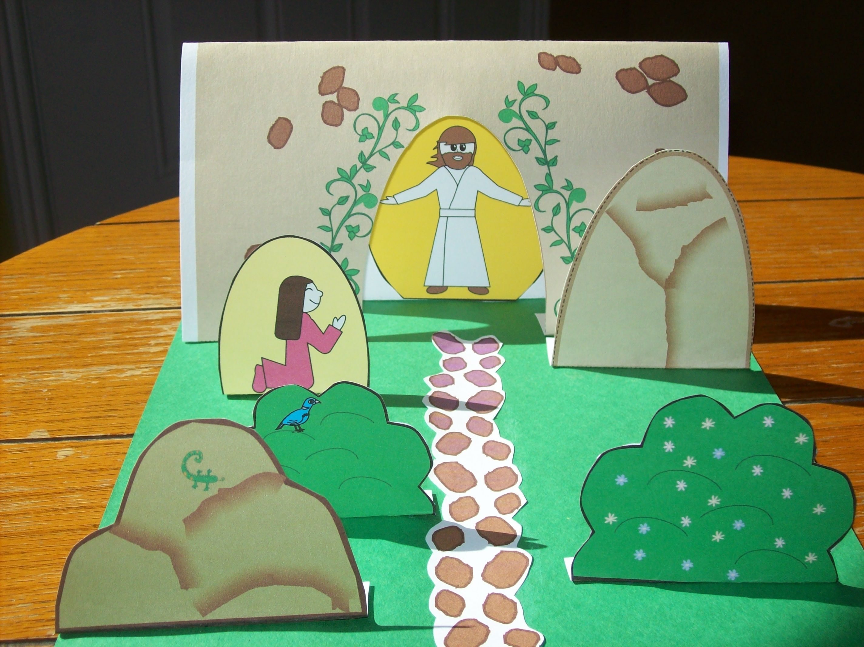 Sunday school crafts for preschool - 5 Children S Bible Crafts For The New Testament