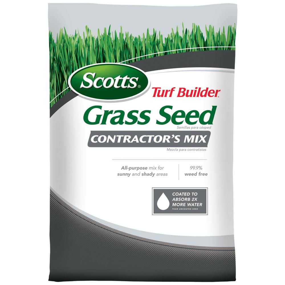 Scotts Turf Builder 20 Lb Contractor S Mix Northern Grass Seed