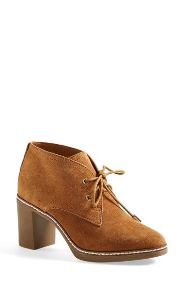 6d4fcb32988 Tory Burch  Hilary  Suede Chukka Bootie (Women) available at  Nordstrom