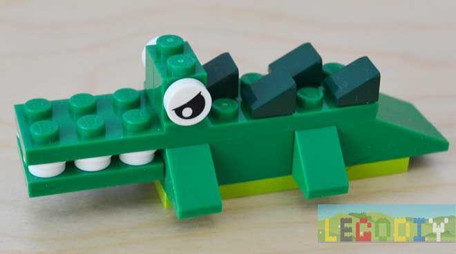 Little Lego Crocodile From 10696 Lego Pinterest Lego