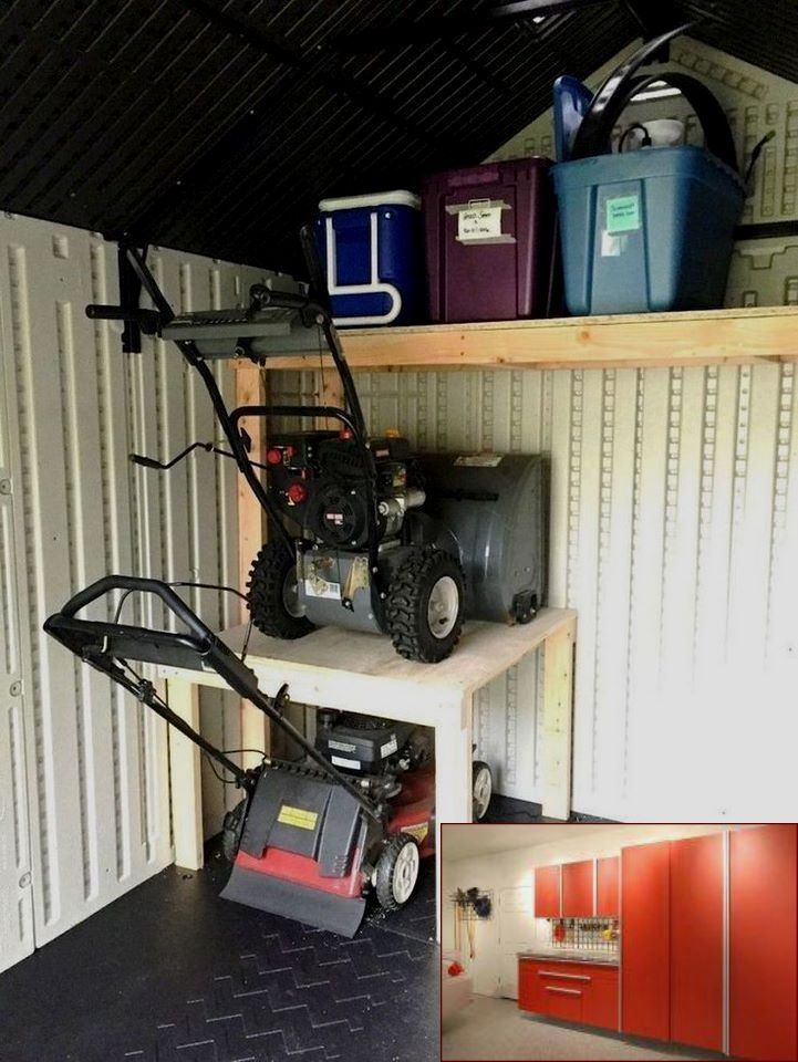 19 Garage Organization Ideas With Enthralling Shelves And