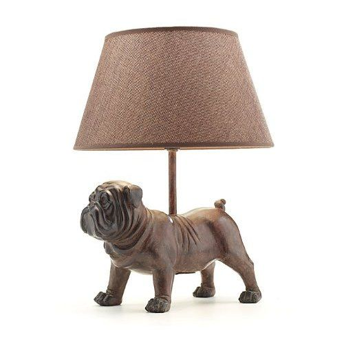 Unique Bulldog Lamp Is Perfect For Dog Lover S Study Or Den