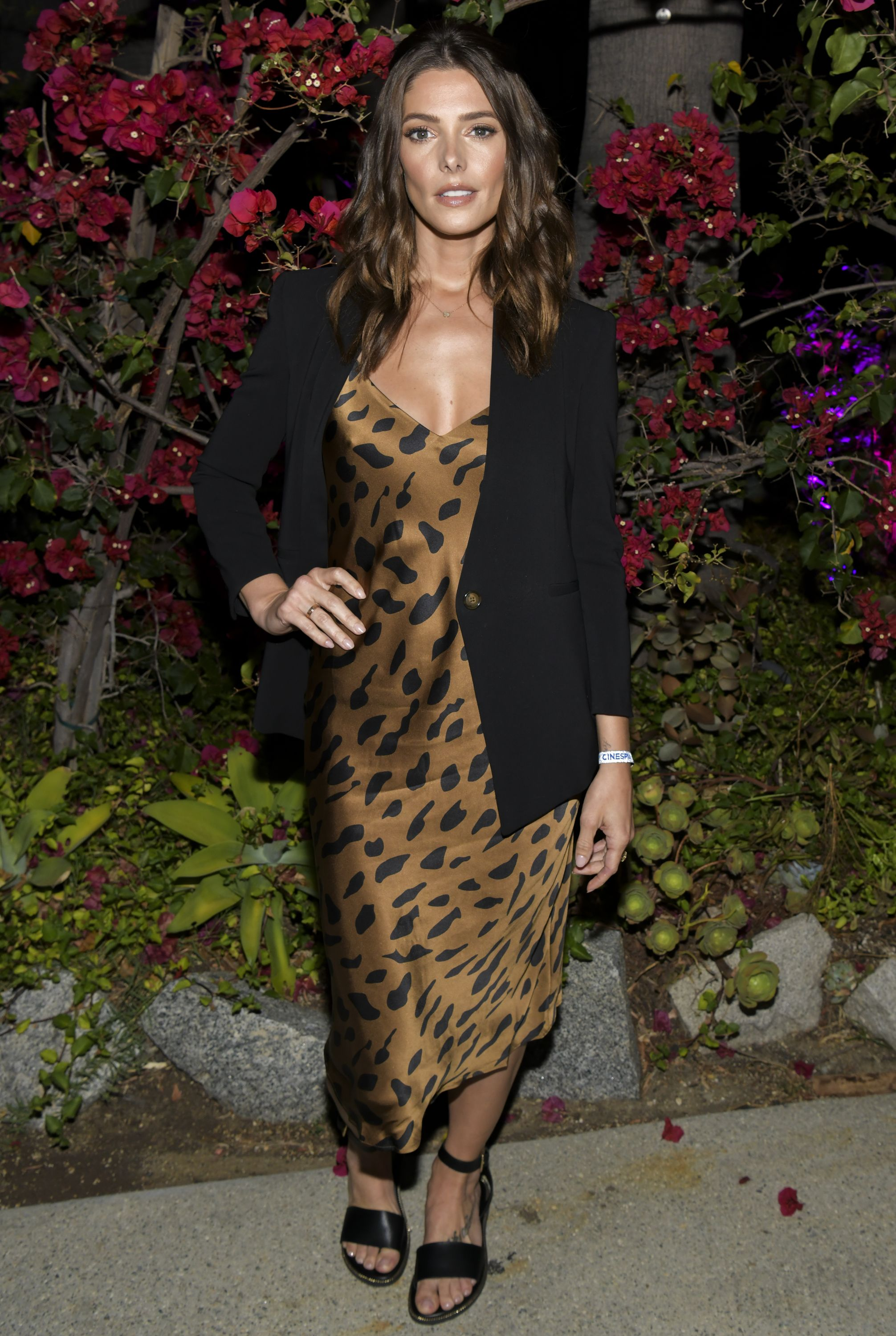 Ashley Greene Proves Animal Print Will Be Forever Chic At ...