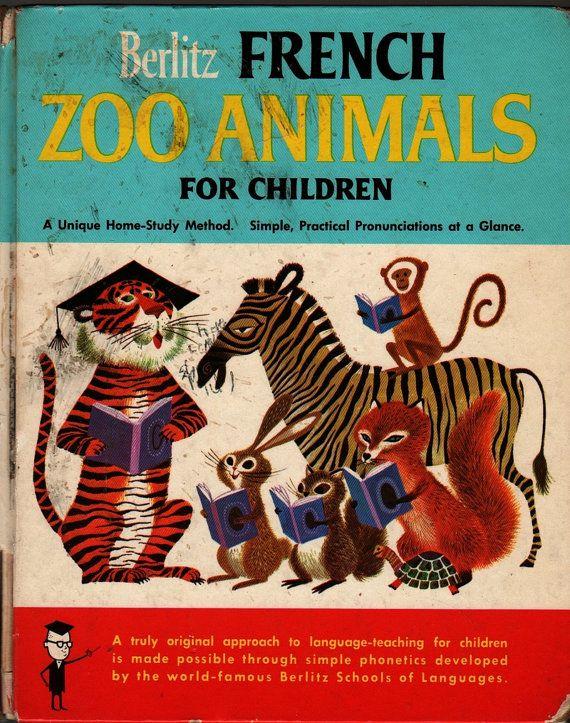 Berlitz French Zoo Animals For Children Berlitz by