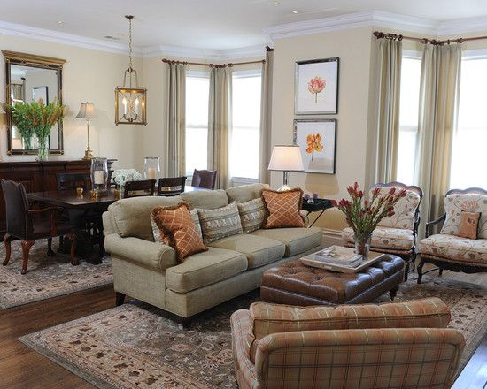 BM Philadelphia Cream Paint Color On Walls Great Web Site For Decorating Ideas And Questions Traditional Living RoomsDining