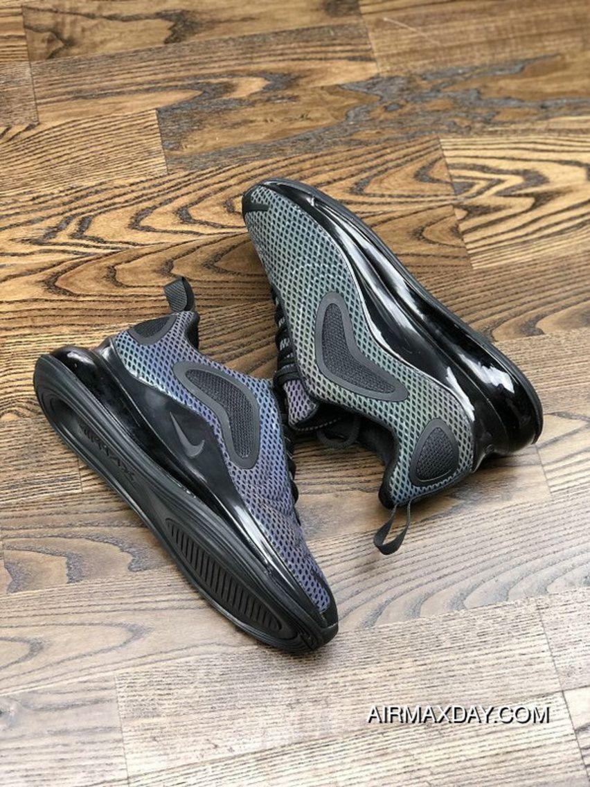big sale d130b d768c Nike Air Max 720 2019 Gradient Color Black Original Mens Running Shoes  Online