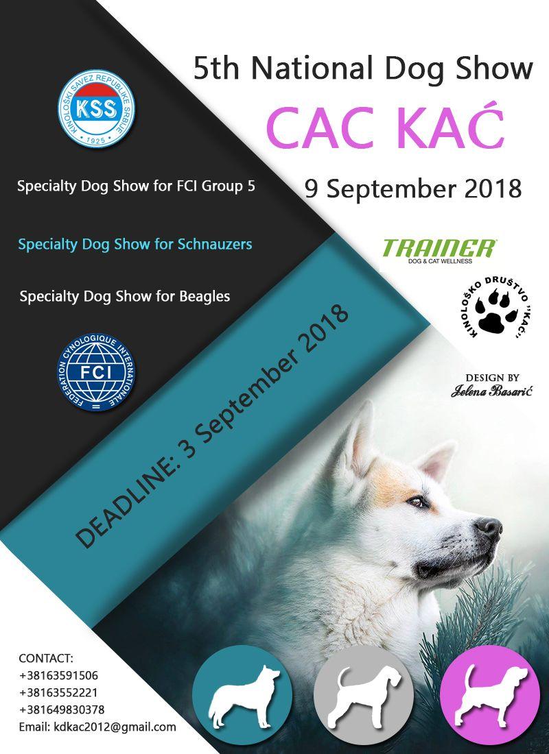 Kac Serbia On Behalf Of The Kennel Club Kac Serbia We Invite