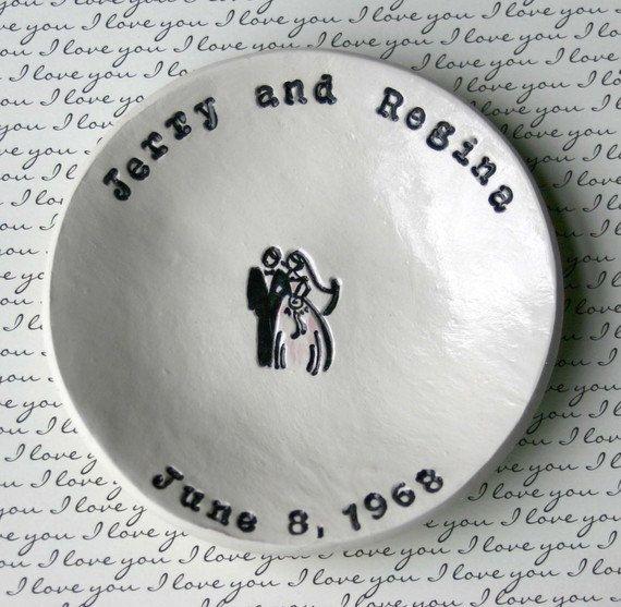 Nice Wedding Gift Ideas: Personalized Wedding Bowl By Elmstudiosonline On Etsy