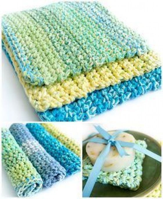 POPSUGAR  This very simple pattern for easy thick crochet wash  dishcloths ma POPSUGAR  This very simple pattern for easy thick crochet wash  dishcloths makes a nice chun...