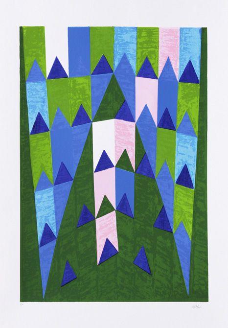 Ogivas Alfredo Volpi 1896 1988 Arte Colorida Arte Em