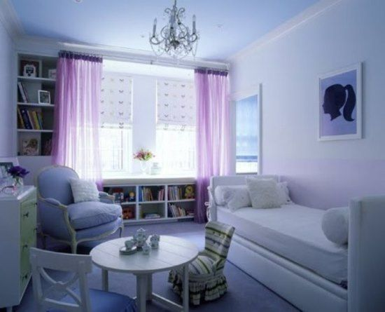 50 Purple Bedroom Ideas For Teenage Girls  Bedrooms Kidsteens Inspiration Curtains For Teenage Girl Bedroom Design Decoration