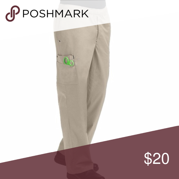 0db78a93991 Med Couture MC2 Men's 7 Pocket Cargo Scrub Pants KHAKI These awesome cargo  scrub pants feature