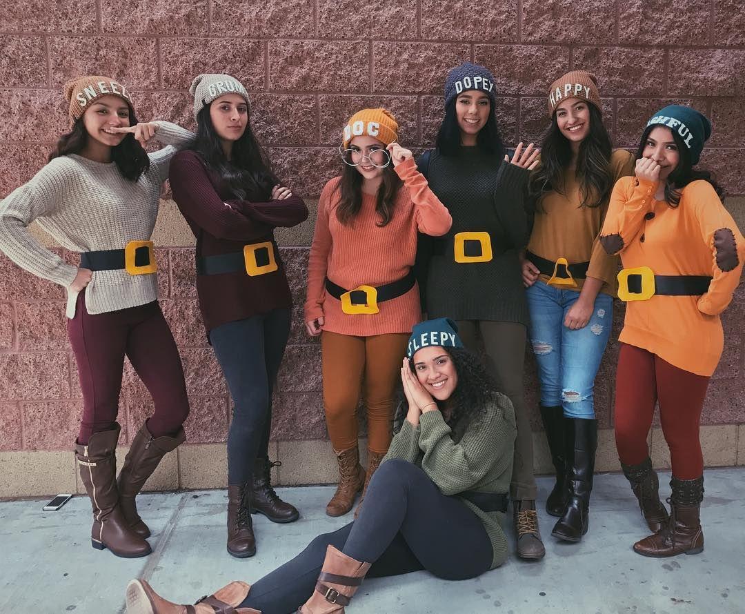 Seven Dwarfs Teacher Halloween Costumes Group Halloween