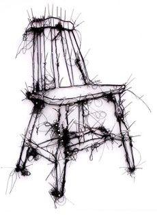 DEbbie Smyth - drawing with thread